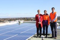 Marrickville Council 20kW solar array