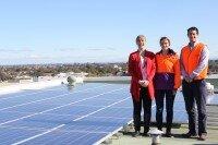Marrickville Council 20kW solar array