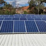 ISCAR solar PV system 1
