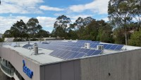 ISCAR headquarters: 30kW solar array