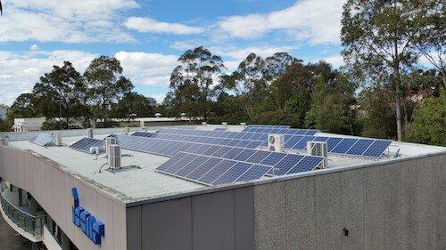 ISCAR 30kW solar PV system, Sydney