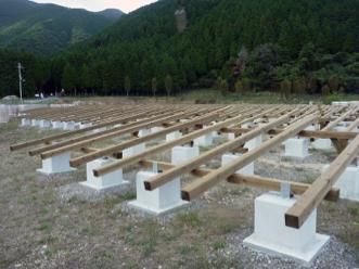 Japanese Pv Installers Choosing Wooden Racking For Solar