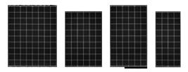 Kyocera KD Polysilicon Solar Panels