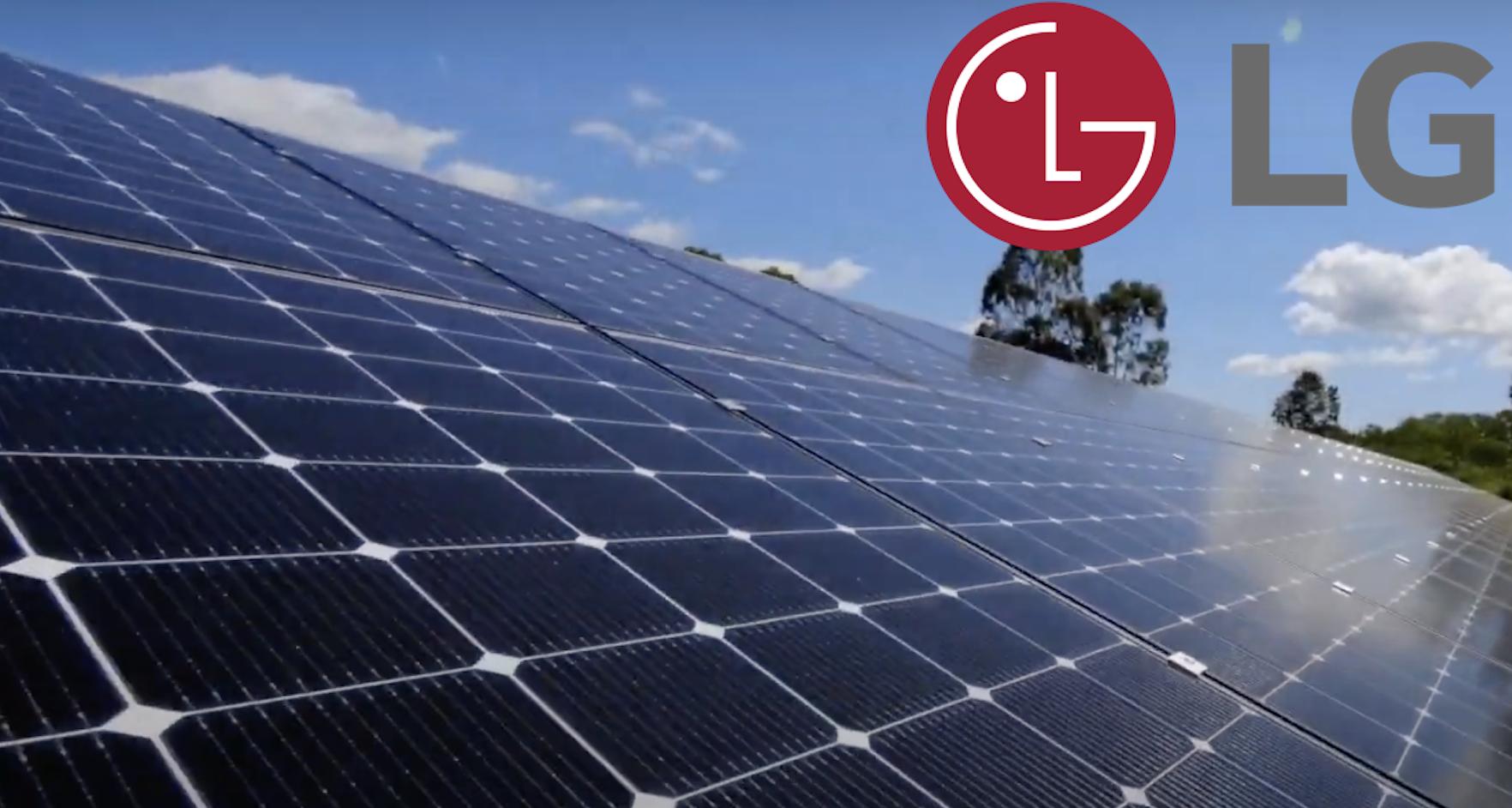 LG Solar Header