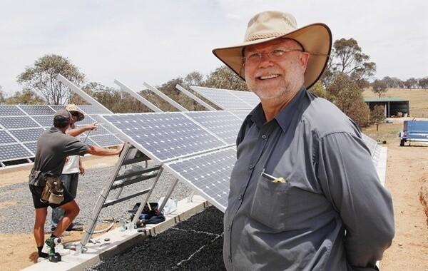 Larry Fingleton Solar Pioneer NSW