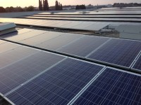 Lebus Upholstery 1.2MW solar array