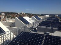 Commercial solar power financing package