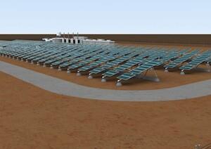 Solar farm in Marble Bar