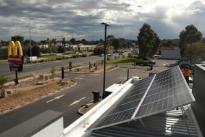 McDonalds Solar Choice Kilsyth North roof