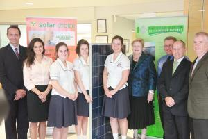 Mount St Benedict 100kW solar pv installation group