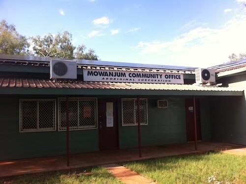 Mowanjum Aboriginal Corporation Solar PV Installation Derby WA