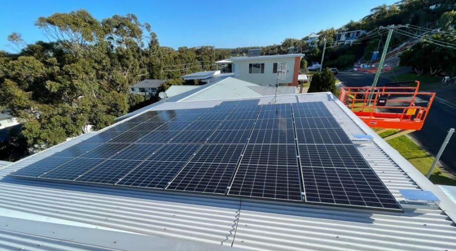 Msquare 350W solar panel installation