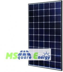 Msquare solar panel image and logo