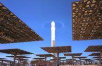 Noor solar tower