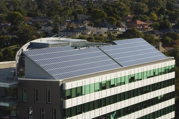Local Government Super's 100kW North Ryde Array--tender managed by Solar Choice Commercial