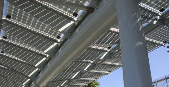 Onyx Solar BIPV Canopy