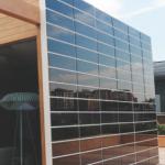 Onyx Solar BIPV wall