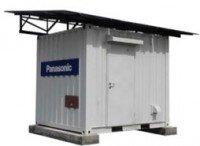 Panasonic solar energy storage external