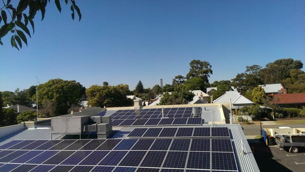 Perth Post newspaper 30kw system