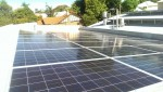 Rooftop solar panels on the Post newspaper in WA