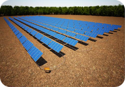 QBotix Solar plant