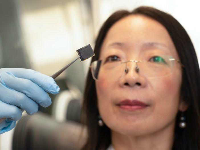 human hair solar cells