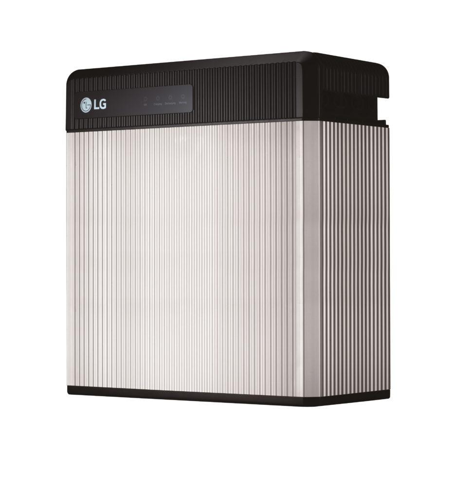 LG Chem's RESU10 - Silver