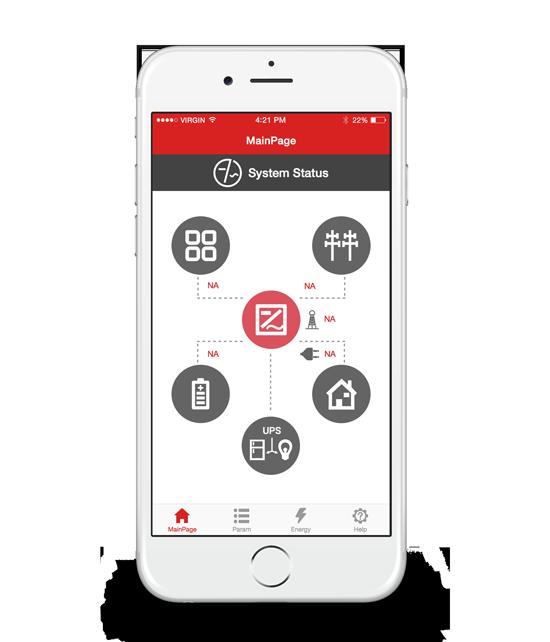 Redbak App iphone