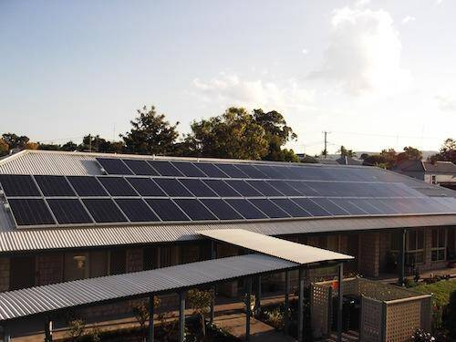 Nation-wide commercial solar power installation rollout with ING retirement villages