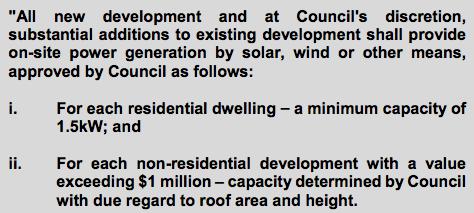Rooftop Solar Requirement Nedlands WA
