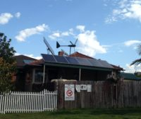Rooftop solar & wind-turbine