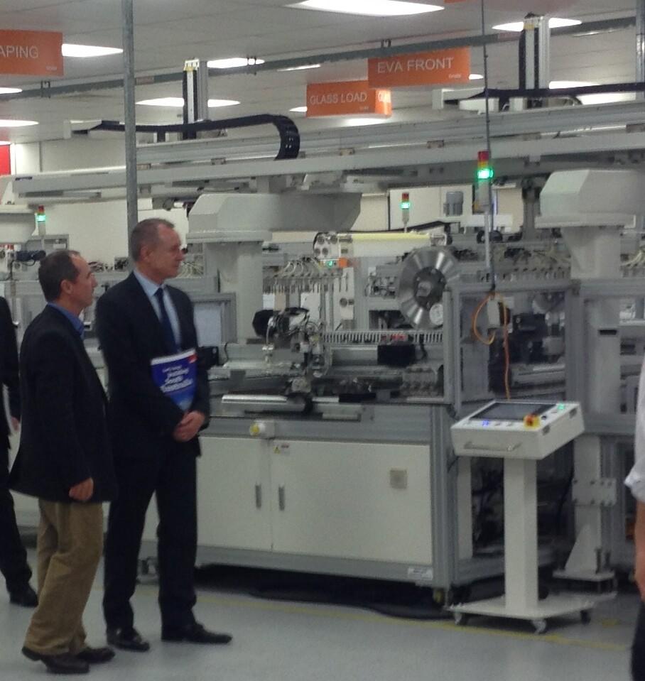 SA Premier visits Tindo Plant