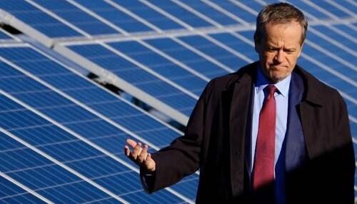 Post image for Shorten targets one million household batteries, focus on renewables