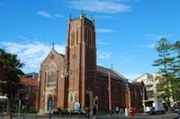 Saint Matthew's church in Manly NSW