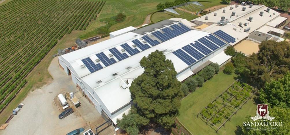 Sandalford 100kW Solar Array