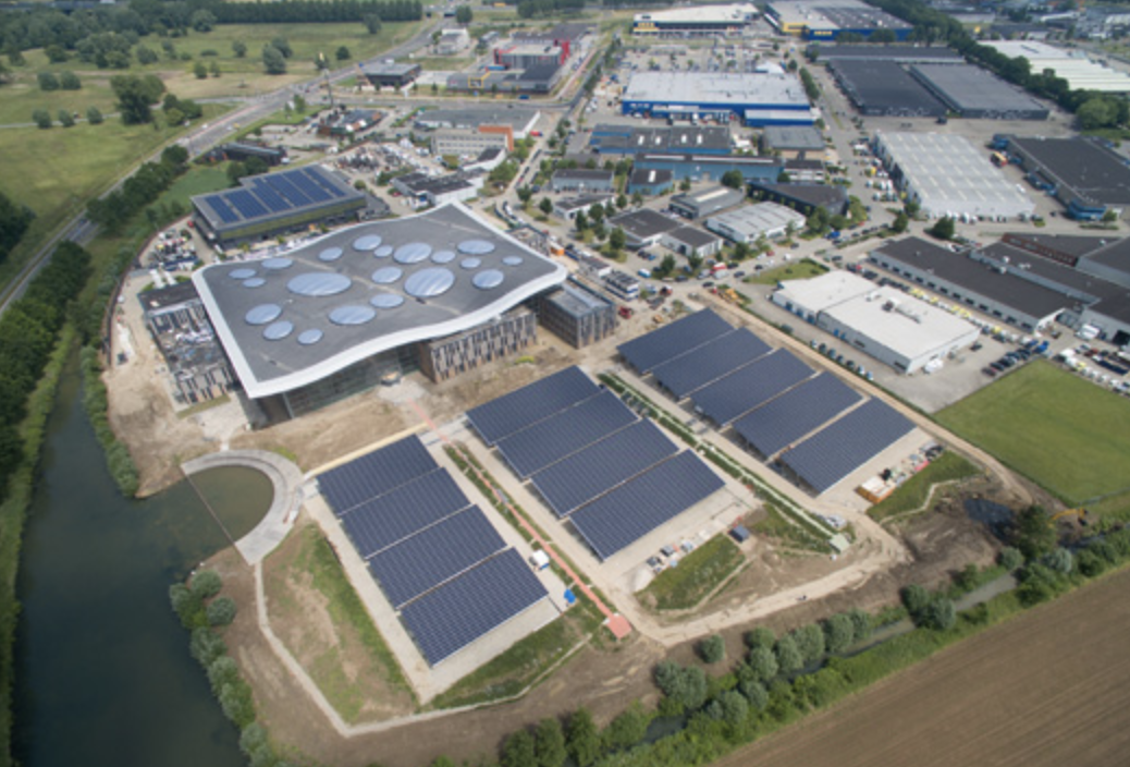 Liander Parking Lot Solar Plant