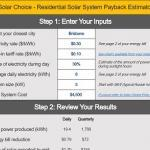 Simple solar payback period free calculator