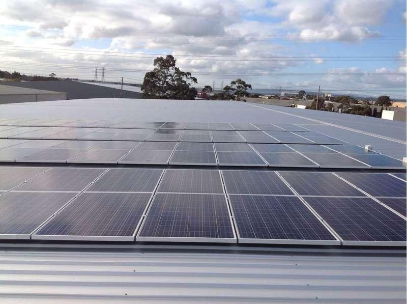 Slades Beverages 30kW solar array