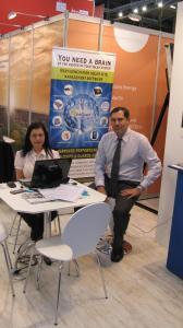 Amitec team at Intersolar 2012 Europe