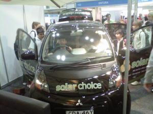 Solar Choice Booth Clean Energy Week Kids