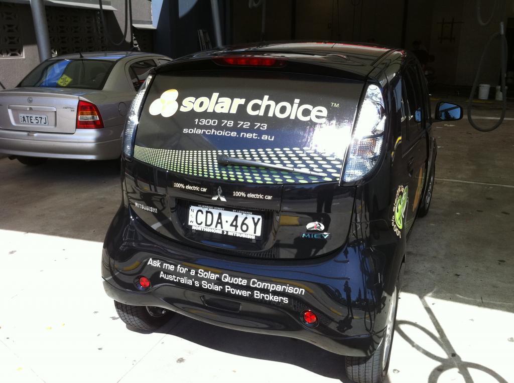 Solar Choice Mitsubishi i Miev