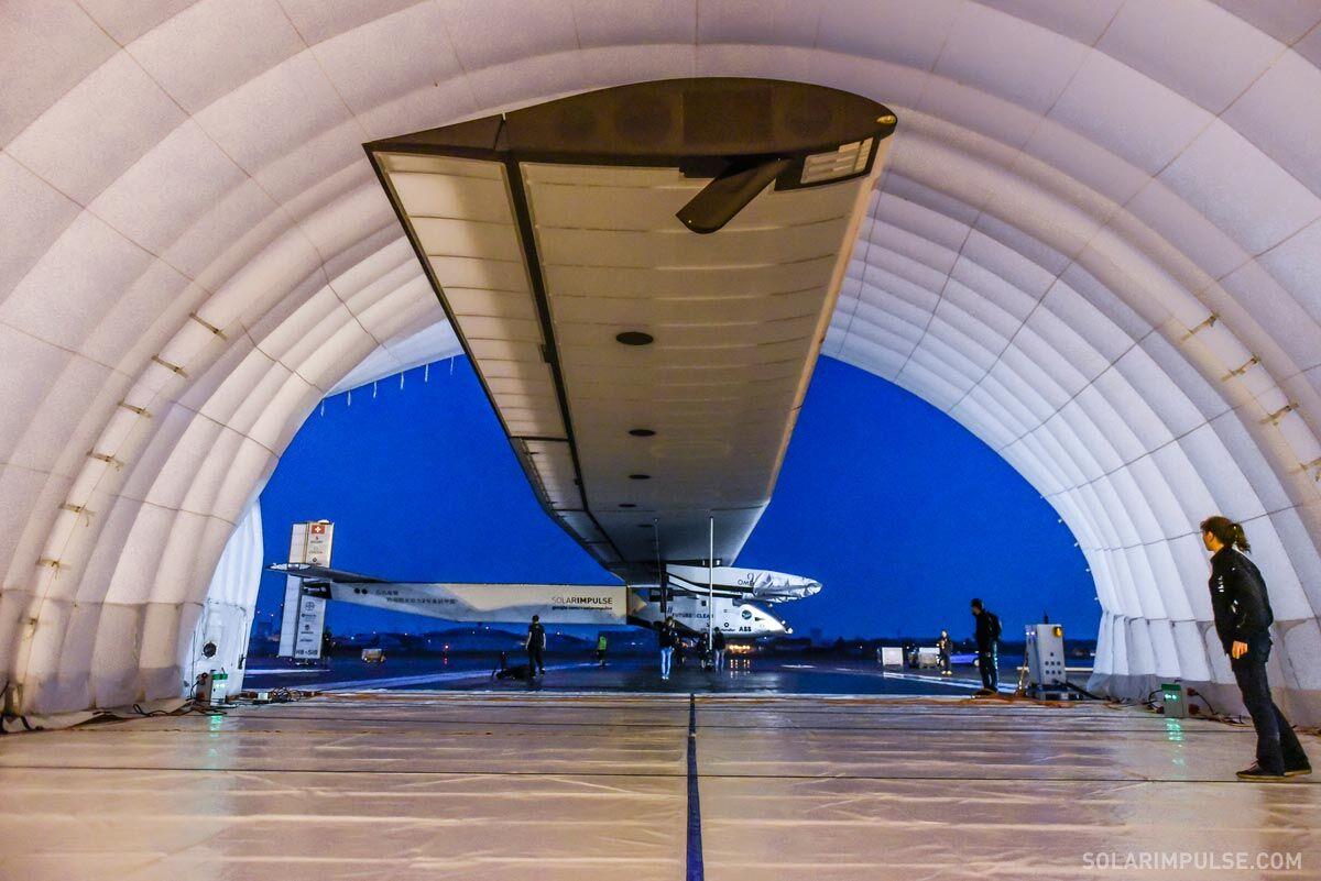 Solar Impulse 2 storage