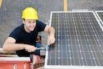 Solar PV system installer