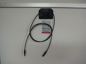 Solar PV module junction box and cables
