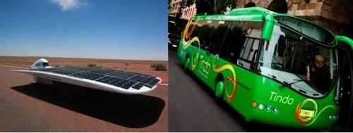Solar Panels Powering Transportation