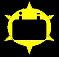 Solar PV battery storage
