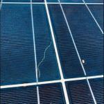 Solar panel snail trail