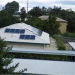 Solar Photovoltaic array Marsden Gardens Queensland
