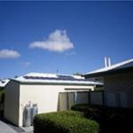 Solar power array Marsden Gardens Queensland
