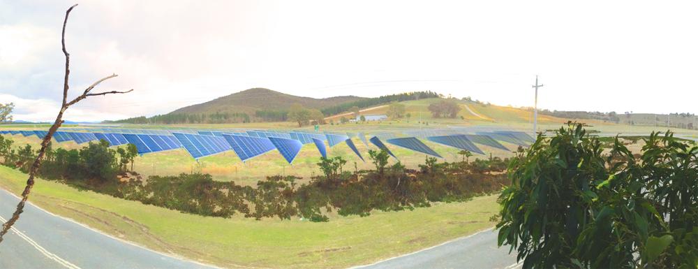 SolarShare flagship project mockup